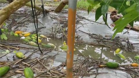 盧碧繞過台灣登陸中國  南台灣嚴防致災性降雨
