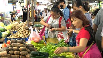 豪雨成災蔬菜產地 葉菜類漲幅超過兩成
