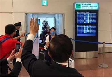 東奧/謝長廷機場迎接台灣健兒!背影照「感動萬人」網喊話「這件事」