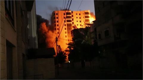 以色列空襲炸迦薩大樓 哈瑪斯反擊射130枚火箭