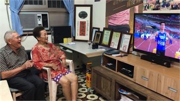 楊俊瀚亞運百米決賽 家人電視機前集氣