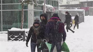 南歐兩樣!西班牙50年最大暴雪、希臘最暖1月