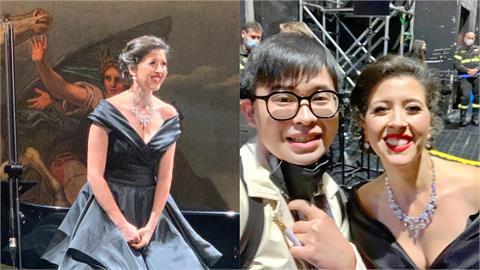 聽眾變對唱!中國男高音義大利追星 救援女偶像高歌「茶花女」驚呆全場
