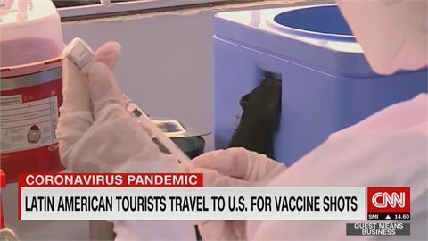 搶飛美國打疫苗 阿根廷飛美機票大漲三倍