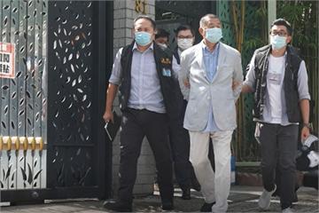 快新聞/港警逮捕黎智英 總統府:戕害新聞自由「台灣會繼續撐香港、撐港人」