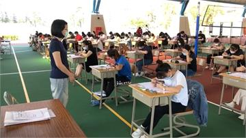 屏東大學教育甄選因應疫情 戶外考試戴口罩