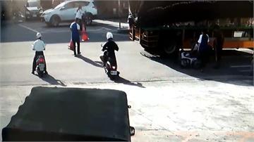 萬丹加油站車禍頻傳 員工練就處理SOP