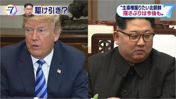 北朝鮮近日頻頻釋善意 為何揚言取消川金會?