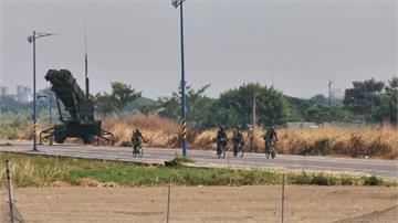要開戰了?嘉義湖子內重劃區現飛彈 國軍四周進行管制 民眾開眼界