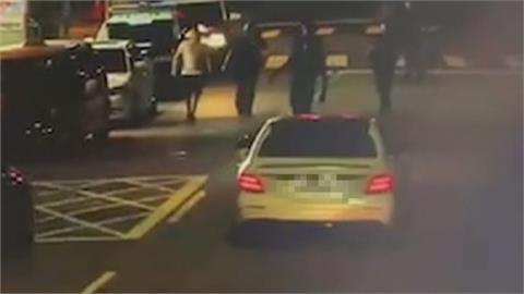 竹聯幫成員涉駕車衝撞員警 租屋處遭逮