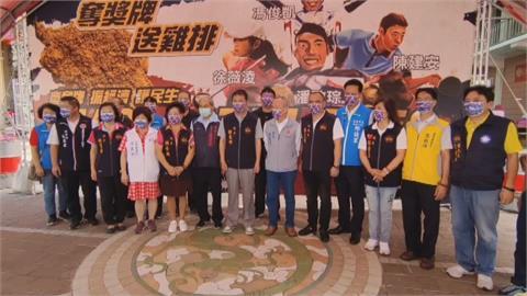 慶祝潘政琮奪奧運銅牌 苗栗縣議會送6600份雞排