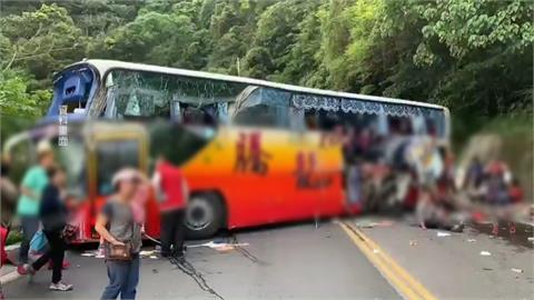 遊覽車蘇花自撞釀6死39傷 肇事司機出院復訊