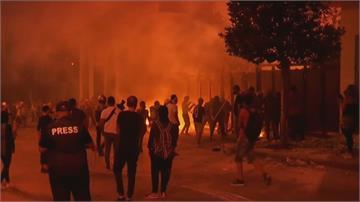黎巴嫩爆炸案民怨沸騰 閣員請辭 馬克宏發起募款直送災民