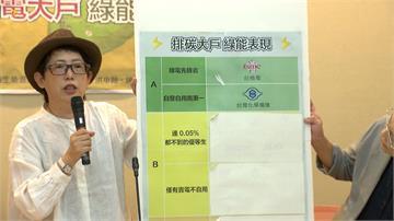 台灣前15名排碳大戶 誰是綠能模範生?