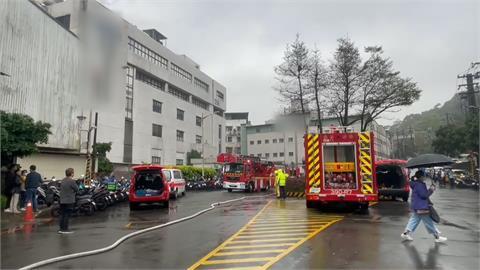黑煙狂竄!敦南科技基隆廠變電設備起火 波及化學槽險爆炸!急疏散200名員工