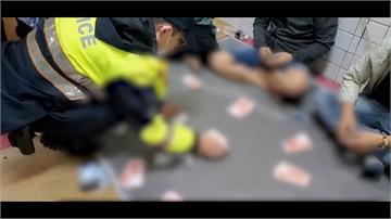 越南雜貨店藏賭場 遭轄區警臨檢破獲