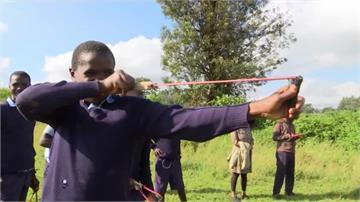 環保從小做起!肯亞舉辦彈弓種樹比賽