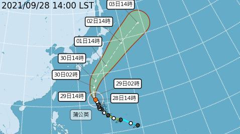 蒲公英颱風不侵台卻有長浪 氣象局:海邊晴空萬里藏「瘋狗浪」威脅