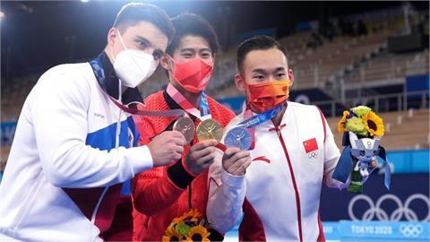 打臉小粉紅!中國體操選手被扣分有原因 謝長廷爆內幕:充滿戲劇化