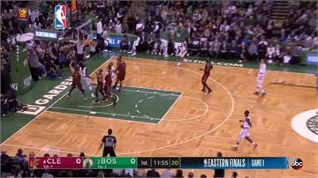 NBA東區決賽開打 騎士詹皇被盯死大敗