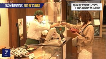 拚復工也怕二波感染!日本各地湧人潮 商家做足防疫