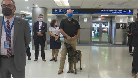 準確度最高99% 邁阿密機場「嗅毒犬」出任務