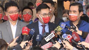 馬英九、江啟臣、趙少康互動熱絡 異口同聲高喊國民黨團結