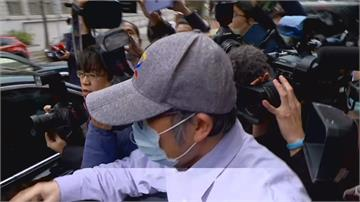 蘇震清保證不逃亡 千萬交保離開地院 阻擋拍攝害跌成一團