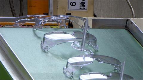 本土確診日增300例 護目鏡熱賣一上午增10萬訂單