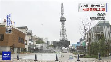 鋒面影響! 日本氣溫驟降 全國各地低至11度