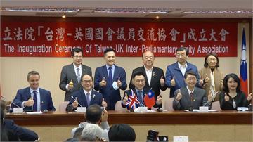台灣英國國會議員交流協會成立 葛瑪蘭威士忌吸引了「他」...