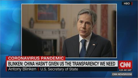 美國務卿批中國隱匿疫情 誓言追病毒源頭並究責
