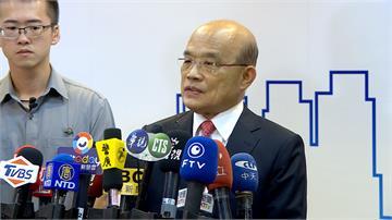 高鐵南延政策遭質疑 蘇貞昌:應考慮國人公平對待