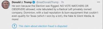川普推文認敗選? 朱利安尼:總統只是在諷刺