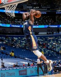 NBA/威廉森猛灌38分 鵜鶘116比109對騎士6連勝