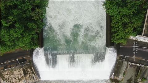 南化水庫累積「溢流量」2838萬噸!每天供高雄40萬噸原水