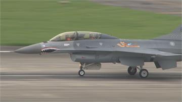 狂踩線!秋節中軍機再擾台 我F16積極測試「狙擊手莢艙」