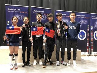 巴黎鈍劍挑戰賽不見我國國旗!12歲小選手主動向大會爭取「掛旗成功」