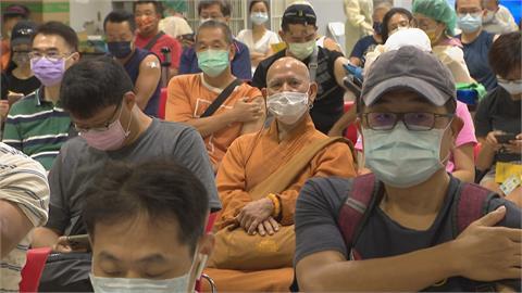 第11輪BNT加開44歲以上接種 開放11.2萬個名額