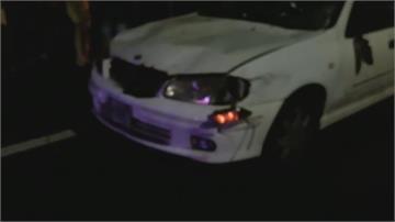 通霄市區自小客追撞進香團 5信徒輕傷
