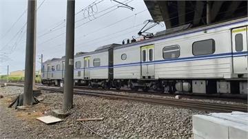 台鐵號誌故障 台中到彰化多班列車延誤