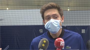 法國網球選手開訓!老將試身手:腿感覺很沉重