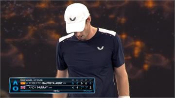 「莫瑞」帶傷苦戰仍輸 澳網後尚未宣布退休