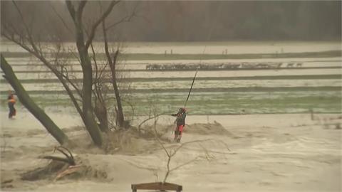 紐西蘭豪雨紅色警報! 水淹城鎮恐撤1.75萬人