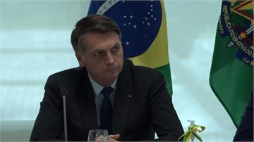 巴西確診飆升至全球第二 總統又傳干預警方人事醜聞