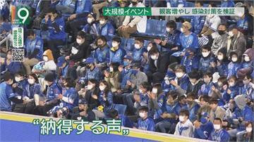 測試防疫效果 日橫濱球場人數上限解禁