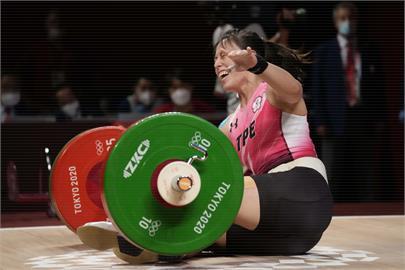 東奧/郭婞淳挑戰141公斤下秒倒地笑了 鄭運鵬讚:奪金後自我挑戰