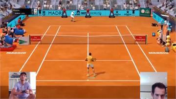 網球/納達爾虛擬賽慘敗 莫瑞調侃:他電動打得不怎麼樣