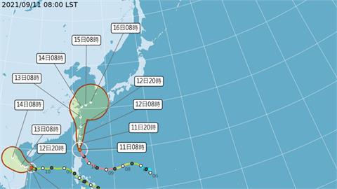 護國神山「中央山脈」發威!降雨預報出爐「台灣東西」對半分割