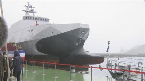 航母殺手「塔江艦」舉行交艦 8月成軍典禮蔡英文親自主持